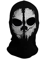 "TOOGOO(R) Tour de Cou Masque Cagoule ""Ghost Tete de Mort"" - Couleur Call Of Duty Modern Warfare - Airsoft Paintball Moto Outdoor Couleur 5"