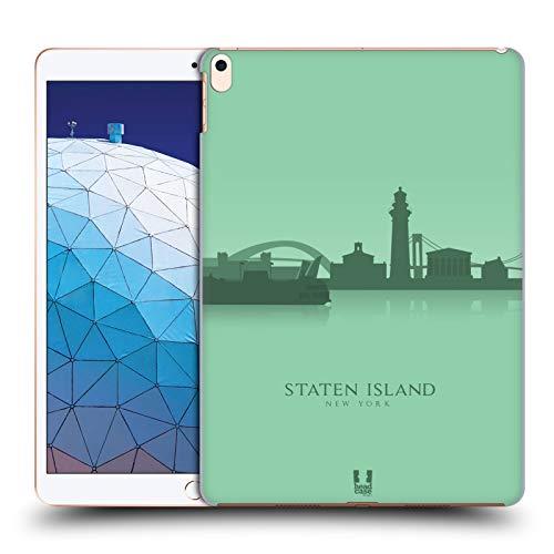 Head Case Designs Staten Island Landmarken Silhouettes 2 - Us Harte Rueckseiten Huelle kompatibel mit iPad Air (2019)