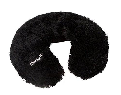 Warmies Neck Warmer schwarz mit herausnehmbarer Hirsekorn Kräuter Füllung