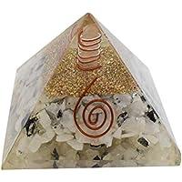 Orgon Pyramide Mondstein Reiki Edelstein-Pyramide-Energie-Generator Feng Shui Spirituelle Geschenk preisvergleich bei billige-tabletten.eu