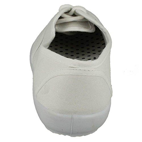 Spot On , Sandales Compensées femme Blanc - blanc
