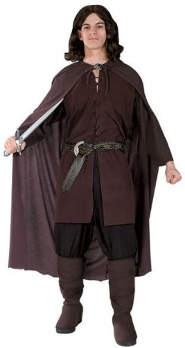 Original Lizenz Aragornkostüm Kostüm Aragorn Herr der Ringe Lord of the Rings die 2 Türme Gr. M, Größe:M/L (Kostüme Herr Der Ringe)
