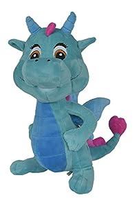 Simba 105951925 - safiras Nessi Peluche de dragón, 25 cm,Colores Surtidos