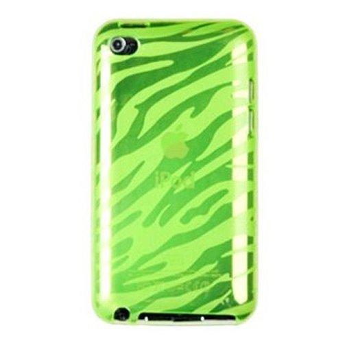 sodialr-funda-tpu-flexible-para-apple-ipod-touch-4g-cuarta-generacion-diseno-de-cebra-verde