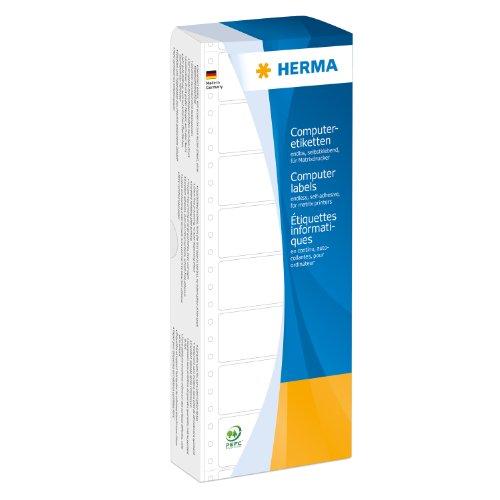 Herma 8161 Computeretiketten (Papier matt, 88,9 x 35,7 mm) 2000 Stück weiß