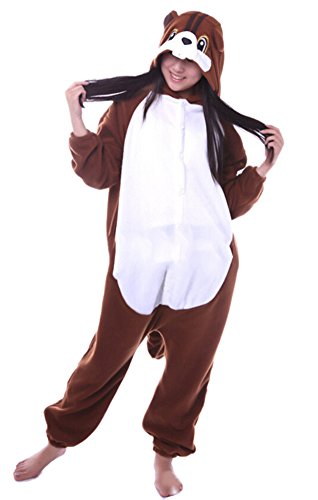 Imagen de dato ropa de dormir pijama ardillas cosplay disfraz animal unisexo adulto
