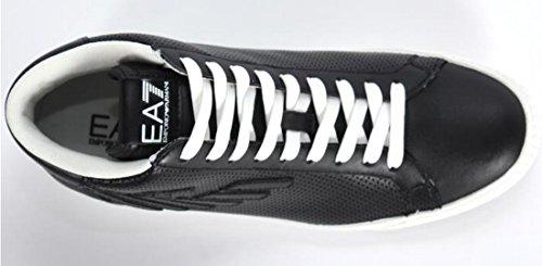 Emporio Armani EA7par 278044perforé Noir Haute top trainer Noir - noir
