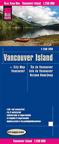 Reise Know-How Landkarte Vancouver Island (1:250.000): world mapping project