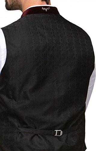Michaelax-Fashion-Trade Stockerpoint - Herren Trachten Weste in verschiedenen Farben, Alonso, Größe:52, Farbe:Grau - 7