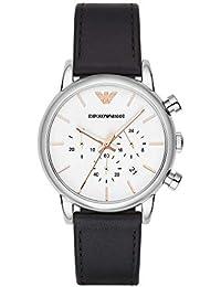 Emporio Armani Analog White Dial Men's Watch - AR2075