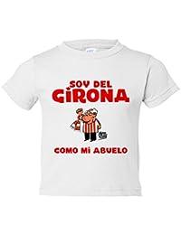 Camiseta niño soy del Girona como mi abuelo Jorge Crespo Cano