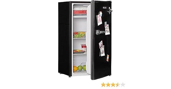 Retro Kühlschrank Ohne Gefrierfach : Amstyle design retro minikühlschrank l schwarz a mit
