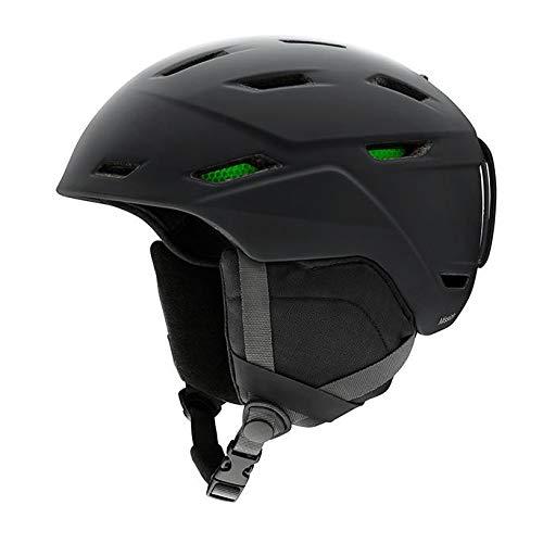 SMITH (SMIZD) Unisex- Erwachsene Mission Helm mit Koroyd, Matte Black, XL / 63-67