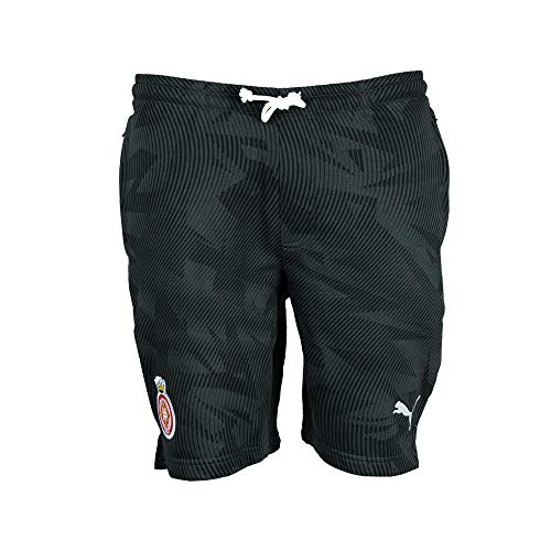PUMA Herren Cup Casuals Short Jogginghose, Black-Whisper White, L