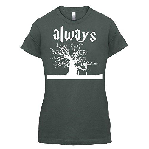 Always Tree - Damen T-Shirt - 14 Farben Dunkelgrau