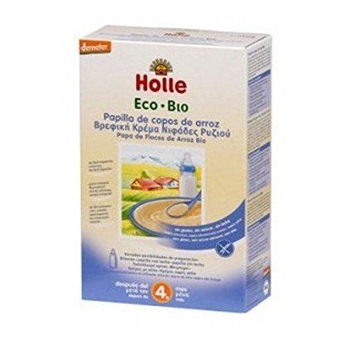 Holle Papilla de Crema Arroz + 4 meses - 250 gr