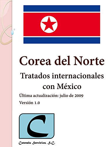 Corea del Norte - Tratados Internacionales con México