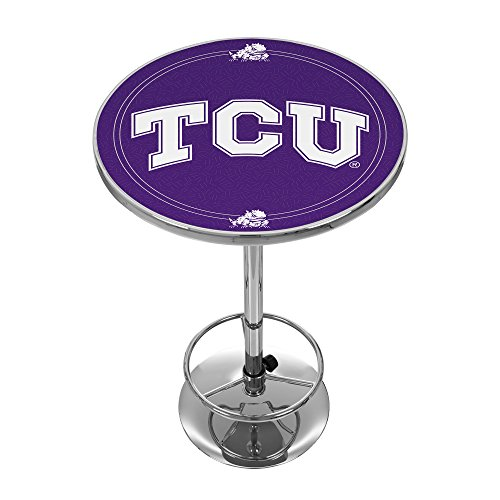 NCAA Texas Christian University Kneipentisch Chrom