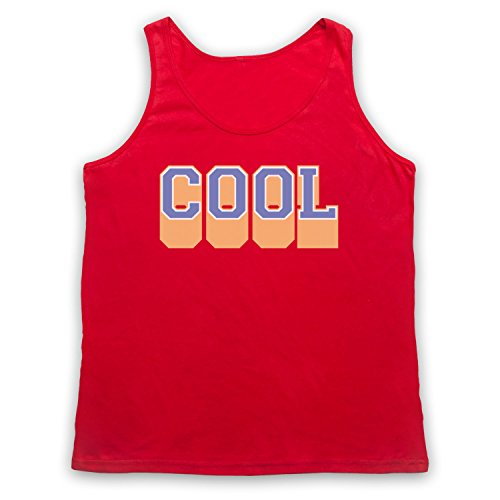 Cool Hipster Tank-Top Weste Rot