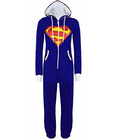 Royal Blue Superman Adult XL - Luzia New Womens Adult