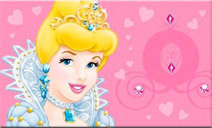 Kinder Teppich Disney Princess Cinderella 50x80 cm