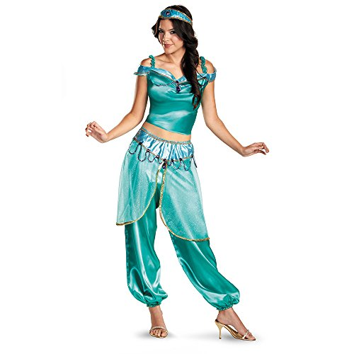 Disney Princess Jasmine Adult Deluxe Costume-Womens Large (12-14)