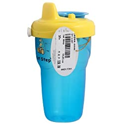 1st Step Baby Non-Spill Cup 6M+ - SkyBlue, 3M+