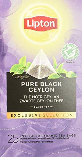Lipton Ceylon Schwarztee Pyramidbeutel, 2er Pack (2 x 45 g)