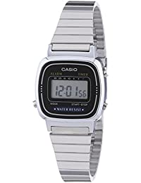 Casio Collection Frauen-Armbanduhr Digital Edelstahl – LA-670WEA-1EF