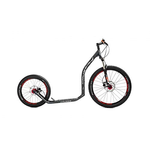 Crussis Cross 6.3 Dogscooter Black/anthrazit