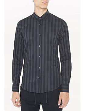 ANTONY MORATO - Antony morato camicie manica lunga uomo camicia tessuto stampata mmsl00401-fa430256