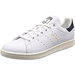 Adidas Herren Stan Smith Sneaker, Weiß Ftwbla/Tinnob 000, 44 EU
