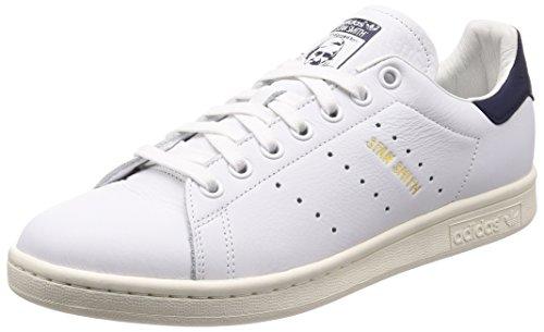 Adidas Herren Stan Smith Sneaker, Weiß Ftwbla/Tinnob 000, 47 1/3 EU -