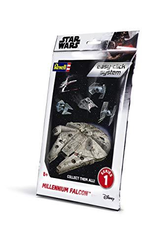 Revell Easy Click 01100 Maquette Star Wars Faucon Millenium échelle 1:241, Blanc