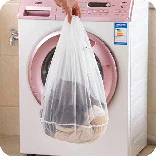 Mesh-kordelzug-verschluss (fghfhfgjdfj Wäschesäcke mit Kordelzug und Verschluss Wäschesack Wäschesack aus Mesh zum Waschen von Wäsche Feinwäsche)