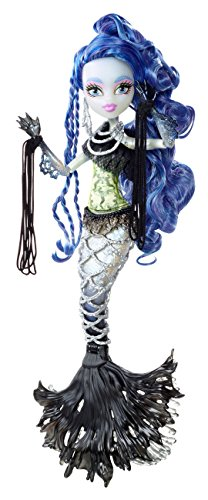 Puppen Monster Geist High (Mattel Monster High CCM45 - Fatale Fusion Hybrid Sirena von Boo, Puppe)