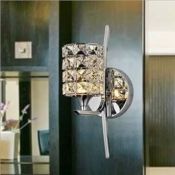 lampe moderne de cristal Applique dimmable LED murale éclairage intérieur