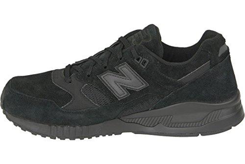 New Balance Homme 530 formateurs, Noir Schwarz