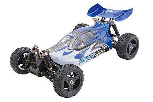 XciteRC 30321000 - ferngesteuertes RC Auto One10 Buggy 4WD Brushless, blau*