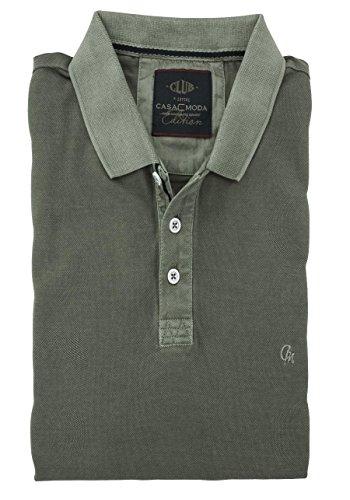 CASAMODA Herren Poloshirt 952137100 Grau (anthrazit 757)