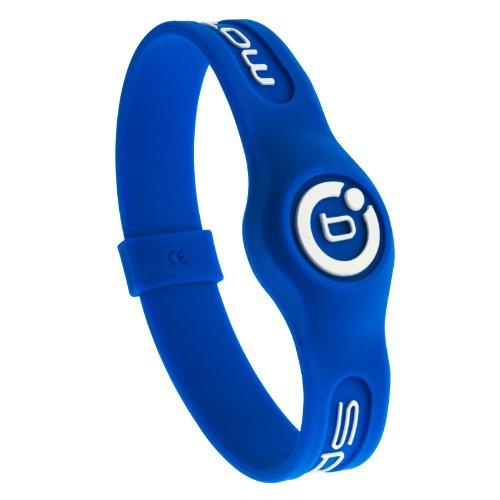 Bioflow Sport Magnetarmband Armband Blau/Weiß Blau blau XL 22.0cm