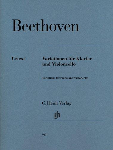 Variationen für Violoncello und Klavier