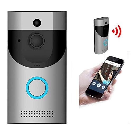 HYCy Video-Türklingel , 720P HD-Überwachungskamera , Mit Glockenspiel, Home Intercom System , Mit Echtzeit-Echtzeitvideo und Gegensprechfunktion, Nachtsicht, PIR-Bewegungserkennung Home Intercom-systeme