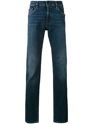 Prada Men's GEP1781MXBLUE Blue Cotton Jeans