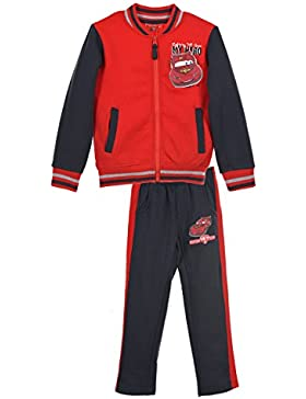 Disney Cars Kinder Trainingsanzug Jogginganzug mit Kapuzenjacke und Jogginghose für Jungen und Mädchen mit Disney...