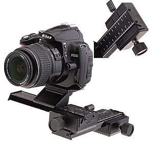 Mise au point 4 Way Macro Glissière Set pour appareil photo reflex Photographie