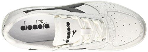 Diadora Herren B. Elite Sneakers Elfenbein (Bianco Bianco Nero)