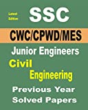 SSC JE (CPWD/CWC/MES) Civil Engineering & Papers 2019