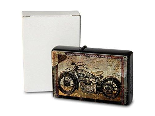 Feuerzeug Benzin Sturmfeuerzeug Bedruckt Motorrad Bike