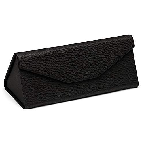 Klappbare Brille Fall, Triangle Portable Männer und Frauen Sonnenbrille Myopie Brille Schutz Box 7 Farben können wählen